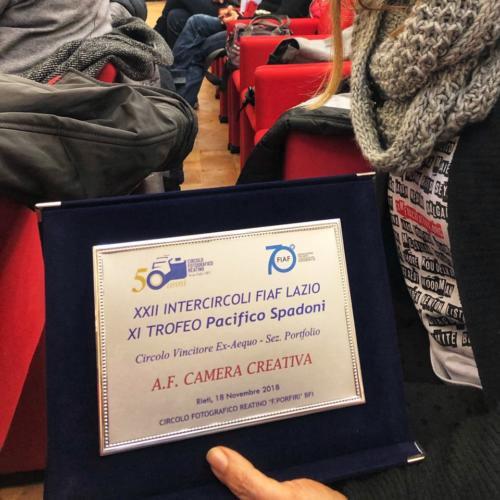 premio Associazione vincitrice sezione portfolio